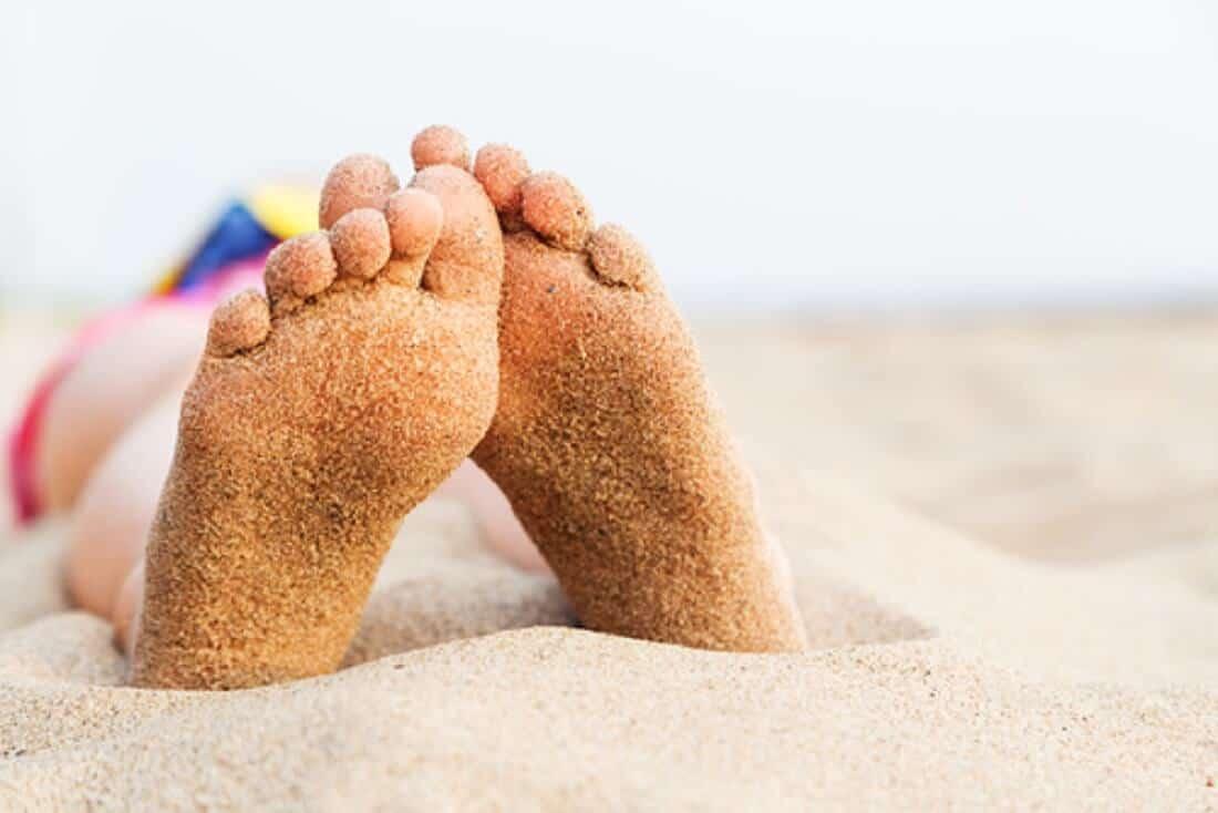 Mit den Füßen im Sand 👣 Juni Wochenendangebot